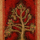 Red Tree by Mel Scully